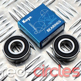 KOYO WHEEL ROLLER BEARING SET - SIZE 6202-2RS