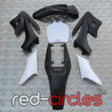 MINI APOLLO DIRT BIKE PLASTIC KIT - BLACK