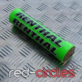 RENTHAL 210mm PITBIKE BAR PAD - GREEN