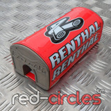 RENTHAL 178mm PITBIKE FATBAR PAD - RED