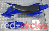 CRF50 PITBIKE PLASTIC SET - BLUE (WITH SEAT PAD)