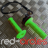 PITBIKE / ATV QUICK ACTION THROTTLE SET - GREEN