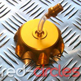 PITBIKE ALLOY FUEL CAP - GOLD