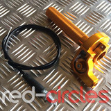 RCR PITBIKE QUICK ACTION THROTTLE - GOLD