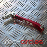 CNC PITBIKE GEAR LEVER - RED