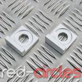 12mm BLOCK PITBIKE TENSIONERS - SILVER