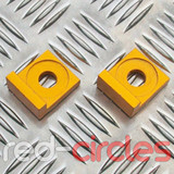 12mm BLOCK PITBIKE CHAIN TENSIONERS - GOLD