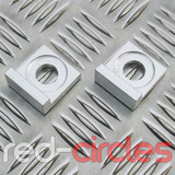 15mm BLOCK PITBIKE CHAIN TENSIONERS - SILVER