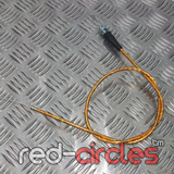 90cm STRAIGHT PITBIKE THROTTLE CABLE - GOLD