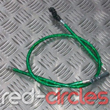 ADJUSTABLE PRIMARY PITBIKE CLUTCH CABLE - GREEN