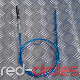 PITBIKE SECONDARY (TOP MOUNT) CLUTCH CABLE - BLUE