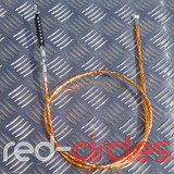 PITBIKE SECONDARY (TOP MOUNT) CLUTCH CABLE - GOLD