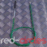 PITBIKE SECONDARY (TOP MOUNT) CLUTCH CABLE - GREEN