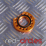 CNC PITBIKE / ATV CARBURETTOR SPINNER PLATE - GOLD