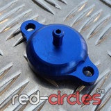 PITBIKE / ATV TAPPET BREATHER - BLUE