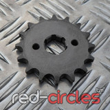 20mm PITBIKE / ATV FRONT SPROCKET - 16 TOOTH / 428 PITCH