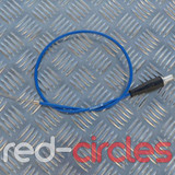 VENHILL ANGLED THROTTLE CABLE - BLUE