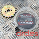TALON 17mm PITBIKE / ATV FRONT SPROCKET - 18 TOOTH / 428 PITCH