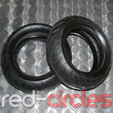 MINIMOTO TYRES (PAIR) - SIZE 90/65-6.5 FRONT AND 110/50-6.5 REAR