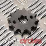 17mm PITBIKE / ATV FRONT SPROCKET - 12 TOOTH / 428 PITCH