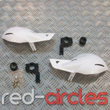PITBIKE / ATV HAND GUARDS - WHITE