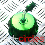 PITBIKE ALLOY FUEL CAP - GREEN