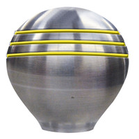 "Ongaro Throttle Knob - 1-1\/2"" - Gold Grooves"