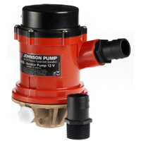 Johnson Pump Pro Series 1600GPH Livewell\/Baitwell Pump - 24V