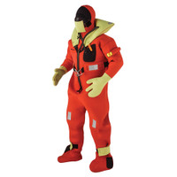 Kent Commerical Immersion Suit - USCG Only Version - Orange - Oversized