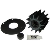 """Jabsco Impeller Kit - 12 Blade - Neoprene - 3-"""" Diameter - Plastic Insert - Double Flat Drive"""