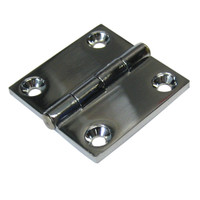 "Whitecap Butt Hinge - 316 Stainless Steel - 1-1\/2"" x 1-1\/2"""