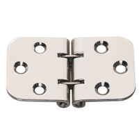 Whitecap Flush Mount 2-Pin Hinge - 304 Stainless Steel - 2-13\/16 x 1-9\/16