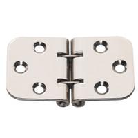 Whitecap Flush Mount 2-Pin Hinge - 304 Stainless Steel - 2-13\/16 x 1-9\/16