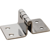 "Whitecap Folding Seat Hinge - 304 Stainless Steel - 2"" x 3-3\/16"""