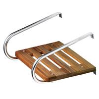 Whitecap Teak Swim Platform f\/Inboard\/Outboard Motors