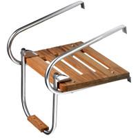 Whitecap Teak Swim Platform w\/Ladder f\/Inboard\/Outboard Motors