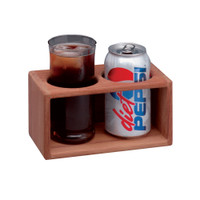 Whitecap Teak 2-Drink Rack