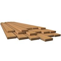 """Whitecap Teak Lumber - 7\/8"""" x 3-3\/4"""" x 3-7\/8"""""""