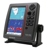 SI-TEX SVS-760C Digital Chartplotter w\/Navionics+ Flexible Coverage