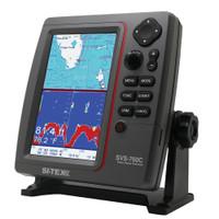 SI-TEX SVS-760C Digital Chartplotter w\/Navionics+ Flexible Coverage