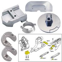 Tecnoseal Anode Kit w\/Hardware - Mercury Alpha 1 Gen 2 - Zinc