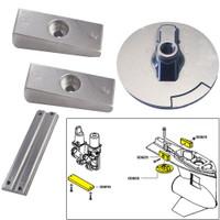 Tecnoseal Anode Kit w\/Hardware - Mercury Verado 4 - Zinc