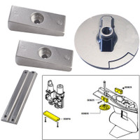 Tecnoseal Anode Kit w\/Hardware - Mercury Verado 4 - Aluminum