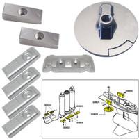 Tecnoseal Anode Kit w\/Hardware - Mercury Verado 6 - Magnesium