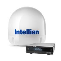 "Intellian i6P Linear System w\/23.6"" Reflector & Universal Quad LNB"