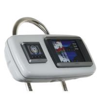 """NavPod GP1040-04 SystemPod Pre-Cut f\/Garmin 5008\/5208 & 1 Instrument f\/9.5"""" Wide Guard"""