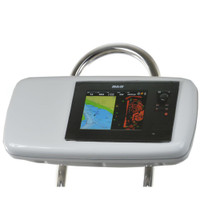 "NavPod GP1040-08 SystemPod Pre-Cut f\/B&G Zeus Touch 8 & Simrad NSS8 Mounted In Center f\/9.5"" Wide Guard"