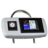 """NavPod GP1040-11 SystemPod Pre-Cut f\/Garmin 8008\/8208 & 1 Instrument f\/9.5"""" Wide Guard"""
