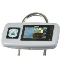 "NavPod GP1040-13 SystemPod Pre-Cut f\/Simrad NSS9 evo2 or B&G Zeus 9 & 1 Instrument f\/9.5"" Wide Guard"
