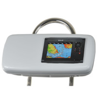 """NavPod GP1040-07 SystemPod Pre-Cut f\/Simrad NSS7 or B&G Zeus Touch 7 & Space On The Left f\/9.5"""" Wide Guard"""